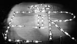 1953 - GANGES DISPLAY AT THE ALBERT HALL. [CORONATION YEAR].jpg
