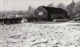1962 - DICKIE DOYLE, THE BOAT HOUSE IN WINTER