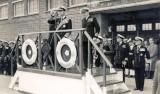 1956, 2ND MAY - THE DUKE OF EDINBURGH TAKING THE SALUTE..jpg
