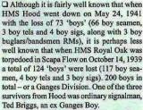 1939 AND 1941 - DAVID RYE, DETAILS OF LOSS OF BOYS IN HMS  HOOD &  HMS ROYAL OAK..jpg