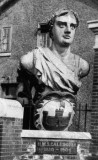 1946 - FIGUREHEAD OF HMS CALEDONIA MOVED FROM MAIN GATE TO NELSON HALL IN 1946.jpg