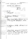 1928, 6TH OCTOBER - BOY HICKMAN, POLICE NOTICE TO THE CORONER.jpg