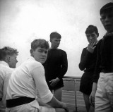 1965, 24TH MAY - JIM WORLDING, BENBOW, 27 MESS, JUNIORS ON LOWER PLAYING FIELD [IS THAT JNR. SMOKING].jpg