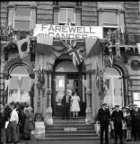 1976 - DAVID RYE, HARWICH TOWN HALL, CIVIC FAREWELL, MRS G. POTTER MADE HER SPEECH, 100 GANGES BOYS AND 400 EX BOYS WATCHED