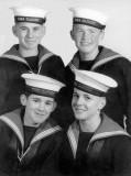 1965, 24TH MAY - JIM WORLDING, 76 RECR., BENBOW,  27 MESS,  JOHN SHARP, JIM WORLDING, STAN SPROT, DICK FISHER..jpg