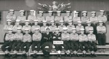 1963, FEBRUARY - MALCOLM SMITH, ANNEXE, BULWARK, I AM IN THE FRONT ROW, 3RD FROM LEFT.jpg