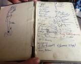 1967 - CHRIS BURDEN, BENBOW, 27 MESS, SIGNATURES INSIDE MANUAL OF SEAMANSHIP.jpg