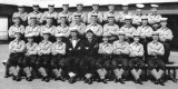 1956 30TH APRIL - DAVID WICKHAM, 98 REC, ANNEXE JELLICO 1 MESS, INSTR. YEO. LAW, INSTR. BOY LETTS, I AM 4TH FROM LEFT BACK ROW