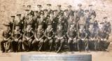 1922 - HMS GANGES INSTRUCTORS, NAMES BELOW IMAGE.