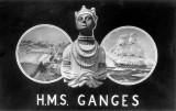UNDATED - H.M.S. GANGES POST CARD.JPG