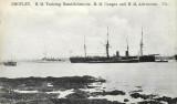 UNDATED - HMS GANGES &  AND HMS ADVENTURE.JPG