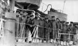 UNDATED - SEA TRAINING, DUCK SUITS AND OILSKINS ARE BEING WORN.jpg