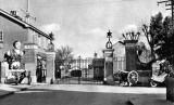 1939 - THE MAIN GATES, NOTE THE MOTOR BIKE.jpg
