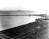 1953 - LOWER PLAYING FIELD AND RUNNING TRACK UNDER WATER DUE NORTH SEA FLOODS.jpg