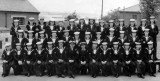 1954, 4TH JANUARY - GRAHAM MAY, GRENVILLE 373 CLASS, I AM FRONT ROW 1ST RIGHT.jpg