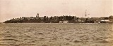 1924c - VIEW OF R.N.T.E. SHOTLEY FROM HARWICH, NOTE FLAG FLYING FROM TOPMAST