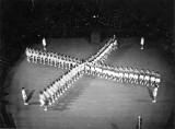 1952 - DOUGLAS CARR - ALBERT HALL FESTIVAL OF REMEMBERANCE - MAZE DOUBLING DISPLAY