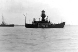 1952 - DOUGLAS CARR - CORK LIGHTSHIP, HARWICH HARBOUR
