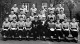 1962 - CHRIS BARMBY, I AM TOP LEFT, KEPPEL, 61 CLASS, D.O. LT. CDR. LeMEASURER AND INSTR.  P.O. COLTHART.jpg