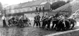 1956, 10TH JULY - KEITH HILLABY, BLAKE, FIELD GUN CREW.jpg