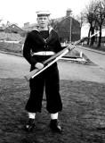 1961, NOVEMBER -  DAVID BRIGHTON, 45 RECR., COLLINGWOOD, 43 MESS, 391 CLASS BUNTINGS.jpg