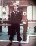 1975, 28TH OCTOBER  - STEVE CARLEY, ON THE QUARTER DECK.jpg
