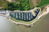 UNDATED - AERIAL VIEW SHOWING SHOTLEY MARINA AND THE OLD ENRIGHT BLOCK.jpg
