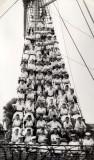 1958, JANUARY - ALFRED SINGLETON, FROBISHER DIV., ON THE MAST.jpg
