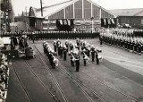 1958, JANUARY - ALFRED SINGLETON, H.M. THE QUEEN'S VISIT, GENERAL VIEW AT HARWICH.jpg