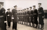 1937 - PHILIP ANTHONY (TONY) FOSTER. COMMANDER INSPECTING THE GUARD.jpg