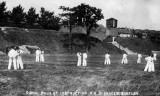 UNDATED - SIGNAL BOYS UNDER INSTRUCTION ON THE LOWER PLAYING FIELD, SEMAPHORE EXERCISE.jpg
