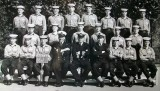 1964, 24TH AUGUST - EDWARD GUDGION, 70 RECR., RODNEY, 61 CLASS, I AM FRONT ROW 2ND FROM LEFT.  ALSO INC. S. POTTS AND R.ROBBINS
