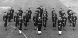 1948, 12TH OCTOBER - TERRY JONES, 116 AND 117 CLASSES, GUARD AT THE SALUTE.JPG