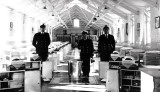 1964, NOVEMBER - TERRY ORTON, ANSON, 20 MESS, DO LT. EBDON, INSTRUCTORS PO DOCKETT AND CME HARPER.jpg