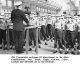 1966, SUMMER - SHOTLEY MAG., 85 RECR., CDR'S WELCOME IN NELSON HALL, SOME JNR.'s  NAMES ON PHOTO.jpg