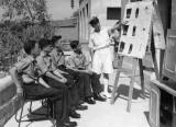 1952, 1ST SEPTEMBER - GUS BORG, FAMILIARISATION LECTURE, TAKEN IN MALTA.jpg