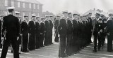 1965, FEBRUARY - PETE OSLER, DUNCAN, 10 AND 11 CLASSES, ADMIRAL'S INSPECTION DURING PASSING OUT PARADE, I AM 3RD LEFT MID. ROW