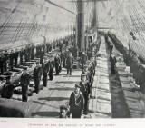 1898, 12TH NOVEMBER - HMS GANGES AT FALMOUTH, KIT INSPECTION.jpg