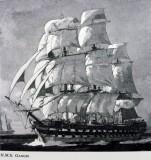 UNDATED - HMS GANGES UNDER FULL SAIL.jpg