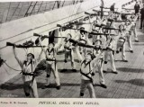 UNDATED - PHYSICAL TRAINING WITH RIFLES ON GANGES.jpg