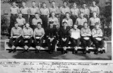 1960 - RICK BARBER, BLAKE, 2 MESS, 262 CLASS, INSTR. BUCK ROGERS, DO LT. WAVERLEY, KNOWN NAMES BELOW PHOTO.jpg