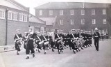1963, 12TH NOVEMBER - ALAN INGHAM, BUGLE BAND, TERRY FOSTER IS 2ND FROM LEFT, ALMOST HIDDEN.jpg