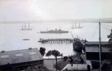 UNDATED - ADMIRALTY PIER WITH SHIPS ALONGSIDE AND IN THE HARBOUR.jpg