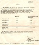 1974, NOVEMBER - DICKIE DOYLE, PAY RATES FOR JUNIORS AT GANGES.jpg