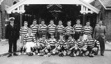 1958, FEBRUARY - MICHAEL NOONAN, GRENVILLE, 21 MESS, 271 AND 382 CLASSES, GRENVILLE RUGBY TEAM.