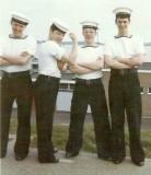 1973, JAN-FEB - BILL CHAPMAN, MYSELF, X, WINSON AND RAY ENSOR