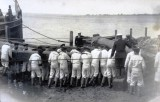 UNDATED - POSSIBLY THE LOWER FOREMAST OF HMS CORDELIA WHICH BECAME THE LOWER MAST OF HMS GANGES.jpg