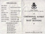 1959, 9TH AND 11TH JULY - PROGRAMME FOR MAST MANNING AND CEREMONIAL SUNSET.jpg