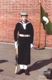 1973, 16TH JANUARY - JOE WHELAN, J.S. PASSING OUT PARADE IN AUGUST, HRH PRINCE PHILLIP TOOK THE SALUTE