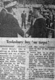 1972, NOVEMBER - DAVE MORALEE, NEWSPAPER CUTTING RE. THE HEWITT CUP.jpg